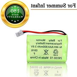 for Summer Infant Baby Monitor Replacement Battery for Summe