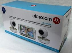 "Motorola Two Camera with 5"" Video Baby Monitor MBP50-G2 NIB!"
