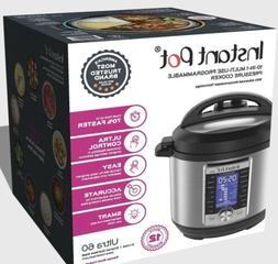 Instant Pot Ultra Smart Electric Pressure Cooker, Stainless