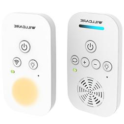 Willcare Upgraded Baby Monitor with Two-Way Audio, Smooth Ni