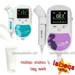 USA SELLER Fetal Doppler Ultrasound Pregnancy FHR Baby heart