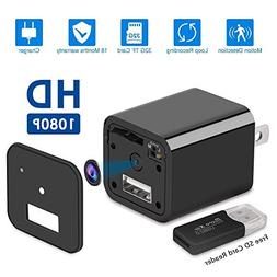 USB Hidden Spy Camera, Motion Detection, Supports Up to 32GB