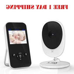 Video Baby Monitor, 2.4Ghz Wireless Digital Camera with Infr