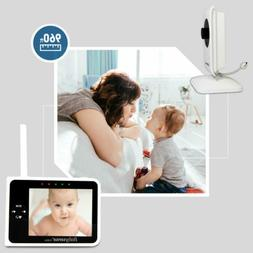 """Babysense Video Baby Monitor 3.5"""" with Two Cameras 