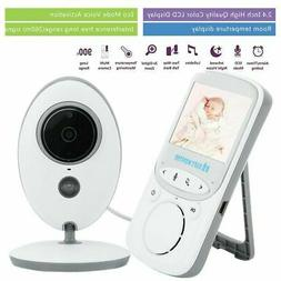 Wireless Video Baby Monitor LCD Infant Surveillance 2 Way Au