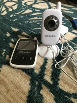 Hellobaby Video Baby Monitor With Camera - Infrared Night Vi