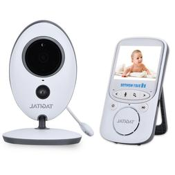 Wireless Video Baby Monitor with Night Vision, Two-Way Audio