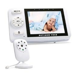Enster Video Baby Monitor With Digital Camera, Two-Way Audio
