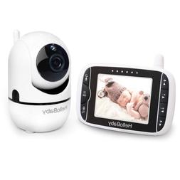 HelloBaby Video Baby Monitor with Remote Camera Pan-Tilt-Zoo