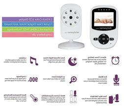 Babysense Video Baby Monitor with Two Digital Cameras, LCD D