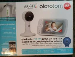 """Motorola - Video Baby Monitor with Wi-Fi camera and 5"""" Scree"""