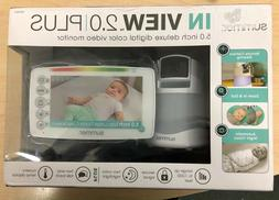 Summer Infant In View 2.0 Plus Video Monitor, White #29740
