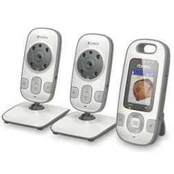 VTech VM312-2 Video Baby Monitor with Patrol-Screen Viewing,