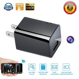 Spy camera USB Phone charger by WEMLB - 1080p HD hidden came