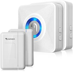Fosmon WaveLink 51036HOMUS Wireless Door Open Chime  2 Magne