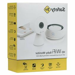 Safety 1st White HD WiFi Baby Monitor Sound Movement Detecti