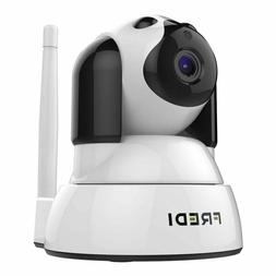 FREDI Wifi IP Camera Baby Monitor 720P HD Wireless Pan Tilt