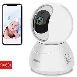 Peteme WiFi IP Camera,1080P FHD Indoor Home Security Wireles