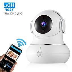 720P WiFi IP Indoor Home Camera - Littlelf Panoramic Securit