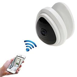 WiFi IP Network Camera, LUXJET 720P Mini Wireless Baby Monit