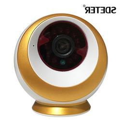 SDETER 1080P 3.0 MP Full HD WiFi IP Security Camera with Nig
