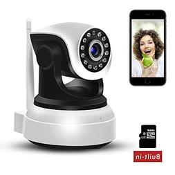 WiFi IP Camera 720P HD Wireless Indoor Home Security Surveil