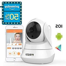 FREDI WiFi Wireless Camera with Remote Viewing Indoor Pan/Ti