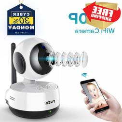 FREDI Wireless 1080P IP Baby Pet Monitor Camera WiFi with Tw