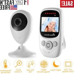 Wireless 2.4GHz Digital Color LCD Baby Monitor Camera Night