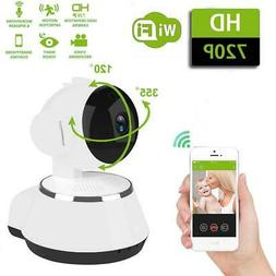 Wireless 720P Pan/Tilt Baby Video Monitor Network IP Camera