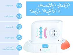 Wireless Audio Baby Monitor with Two Way Talk Back - 2,000 S