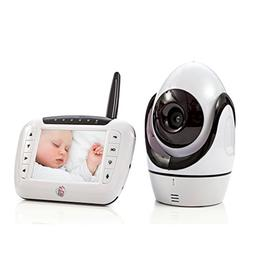 Baby Monitor Video Camera System: Wireless LCD Screen Monito
