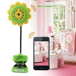 Wireless Baby Monitor Security Camera Flower For iPhone iPad