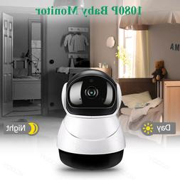 Wireless HD 1080P IP Baby,Pet Dog Monitor Camera Wifi Securi