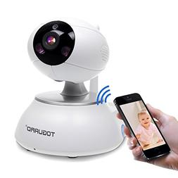 Wireless Home Security Camera, WIFI Baby Monitor IP Camera H
