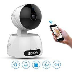Wireless Home Camera,720P WIFI Network Indoor Security Surve