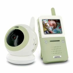 wireless interference free video baby monitor w