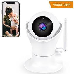 Home camera, 1080P Wireless IP Camera with 3D View Dome Came