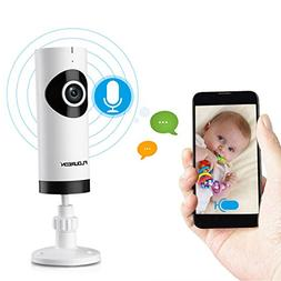 FLOUREON 720P HD Wireless IP Camera Network WIFI Baby Monito