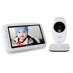 Wireless Baby Monitor, iLifeSmart 2.4 GHz Baby Monitor with