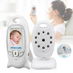 Wireless Video Baby Monitor Digital Camera Audio Night Visio