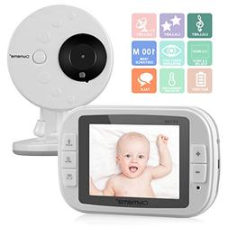 "CityMama 3.5"" Wireless Video Baby Monitor with LCD Display D"