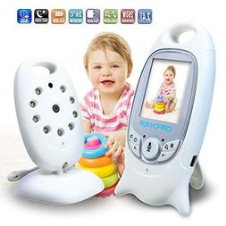 Wireless 2.4 GHz Baby Monitor Digital Video Nanny Security C