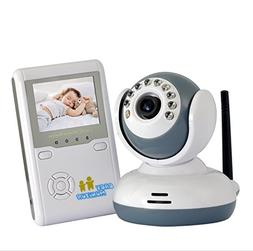 Wireless 2.4 Inch LCD Baby Monitor with 9 IR LED Night Visio