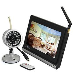 """ZTHY New 2.4ghz Wireless 7"""" Color Video baby Monitoring Syst"""