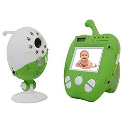 2.4G Wireless Video & Music Baby Monitor with 2.5-Inch Color