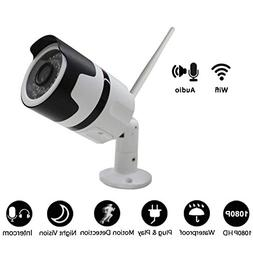 Wireless Network Camera 1080P High-Definition Infrared Night