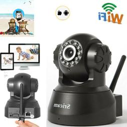 Wireless Security IP Camera Baby Monitor WiFi Pan/Tilt Home