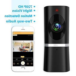 Wireless Security Camera, Takihoo WiFi IP Indoor Home Baby P