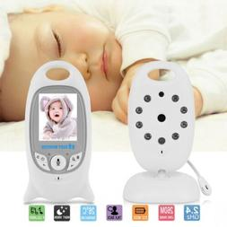 Wireless Two Way Talk Baby Monitor Night Vision Video LCD Na